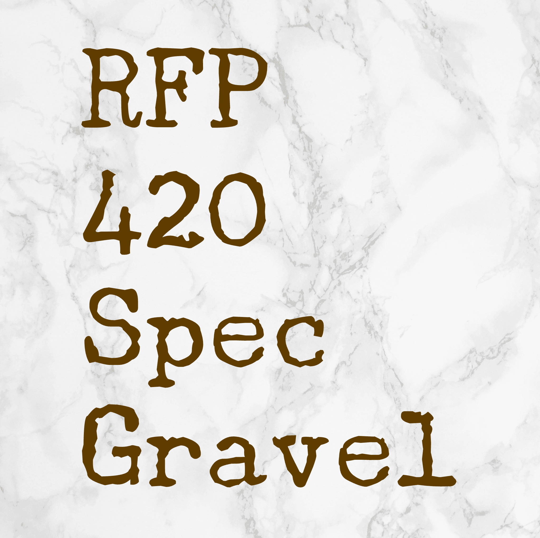 rfp 420 spec gravel
