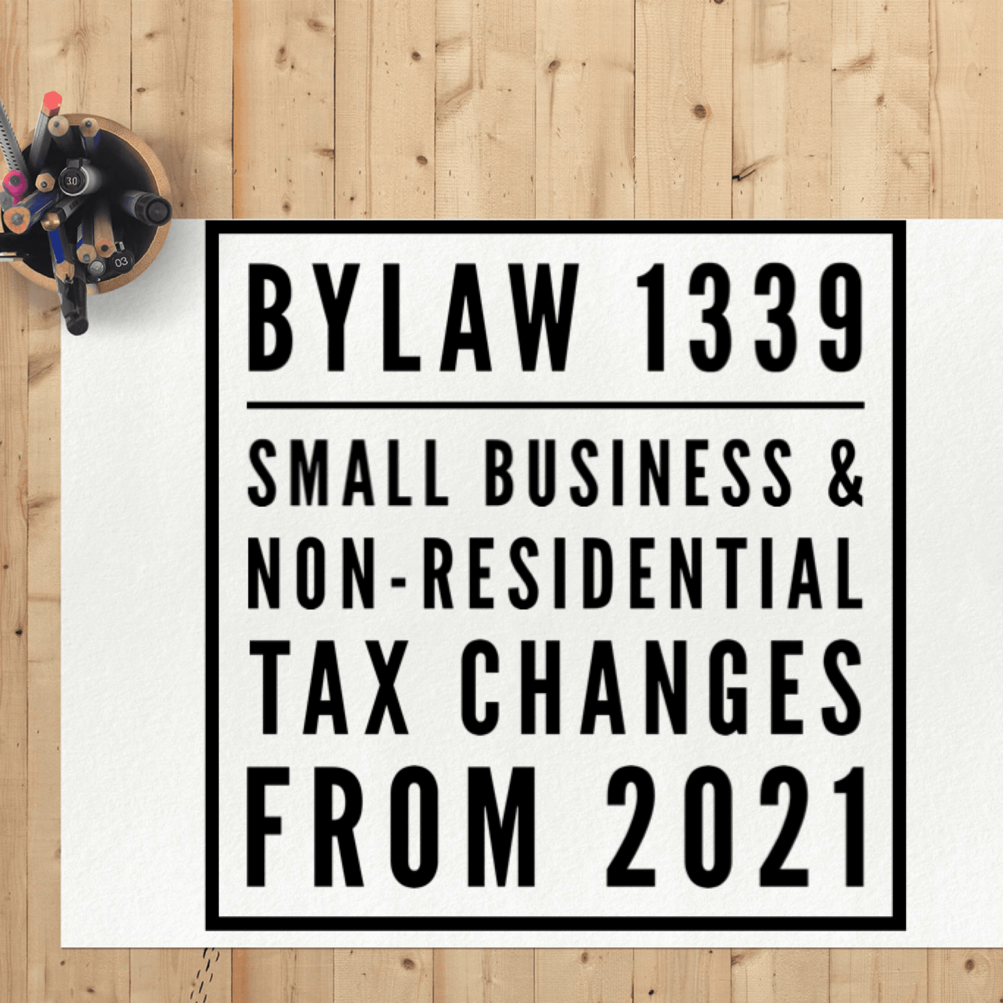 by 1339 tax changes