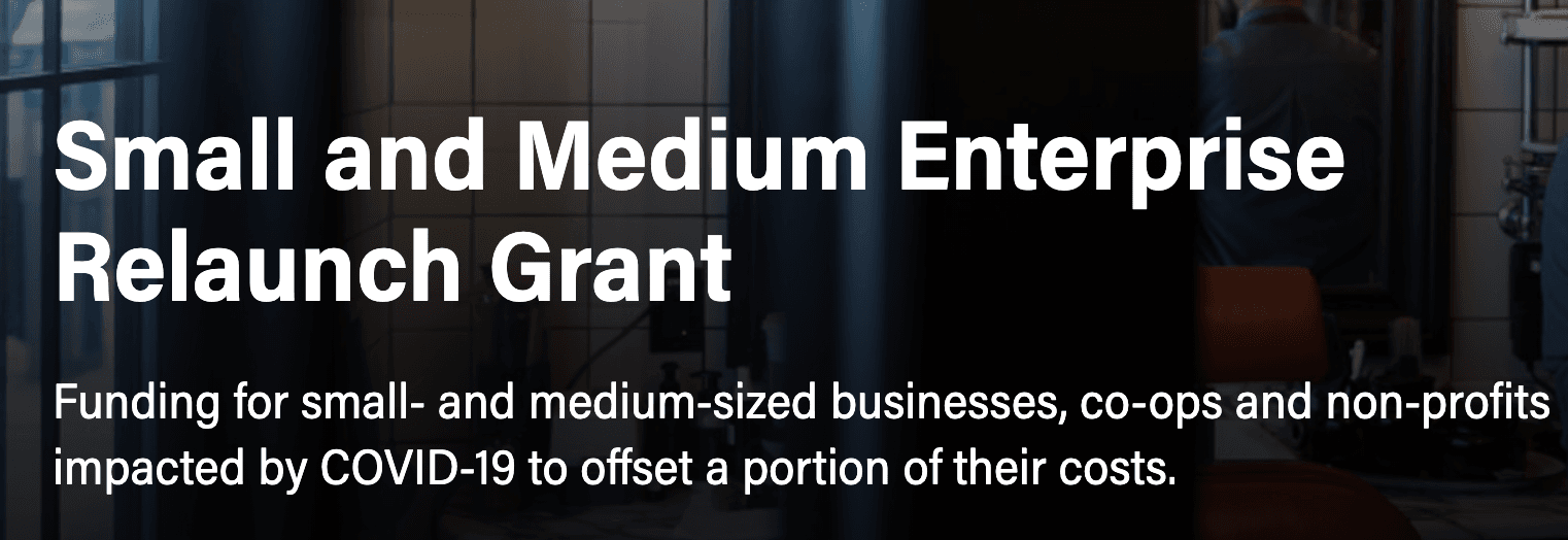 Small and Med Ent Relaunch Grant